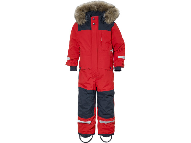 Didriksons 1913 Björnen Coverall Barn Chili Red